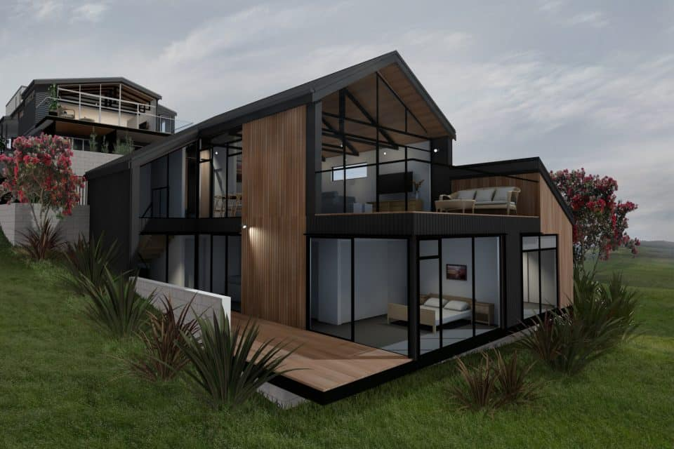 Estuary House - Exterior Render