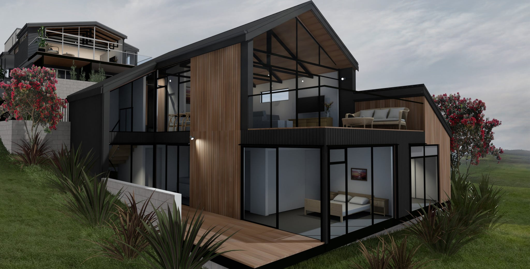 Estuary House - Exterior Render 1
