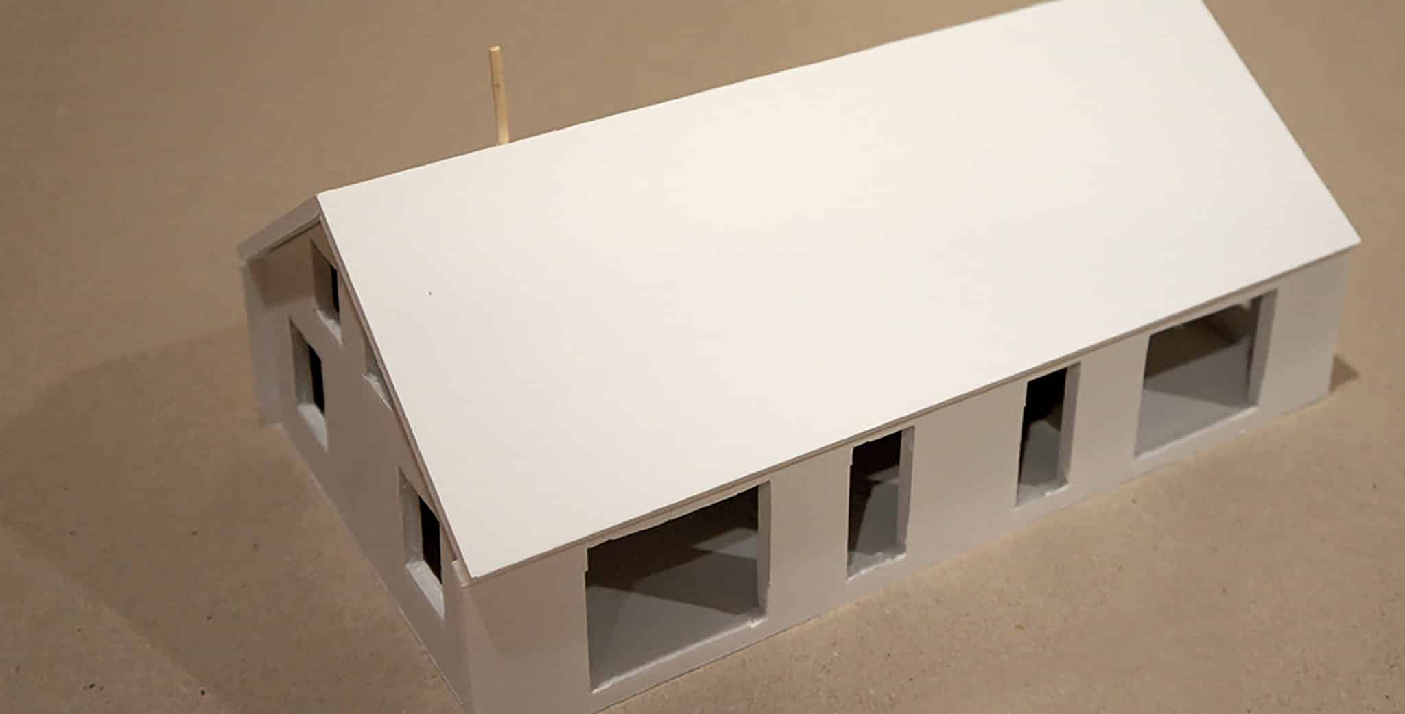 Lower Saddle Passive House - Exterior Model View 1