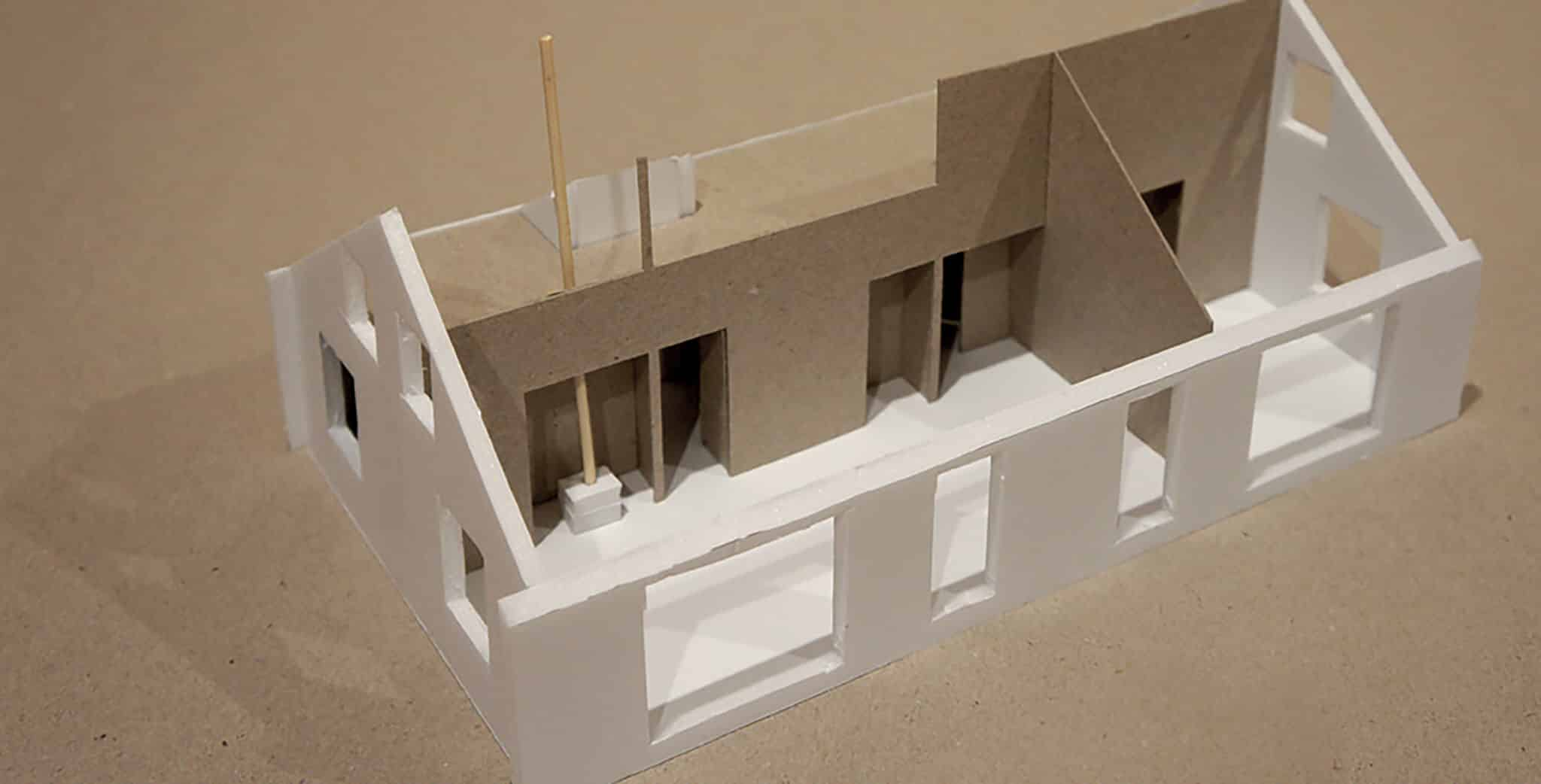 Lower Saddle Passive House - Exterior Model View 2