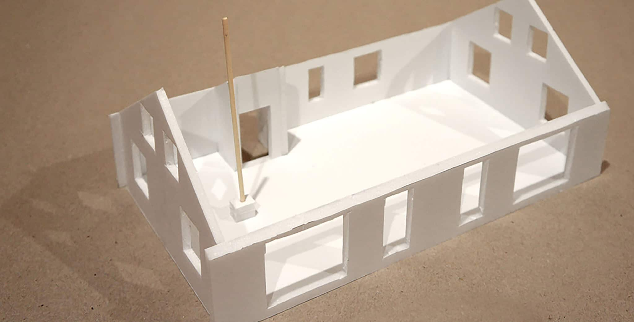 Lower Saddle Passive House - Exterior Model View 3