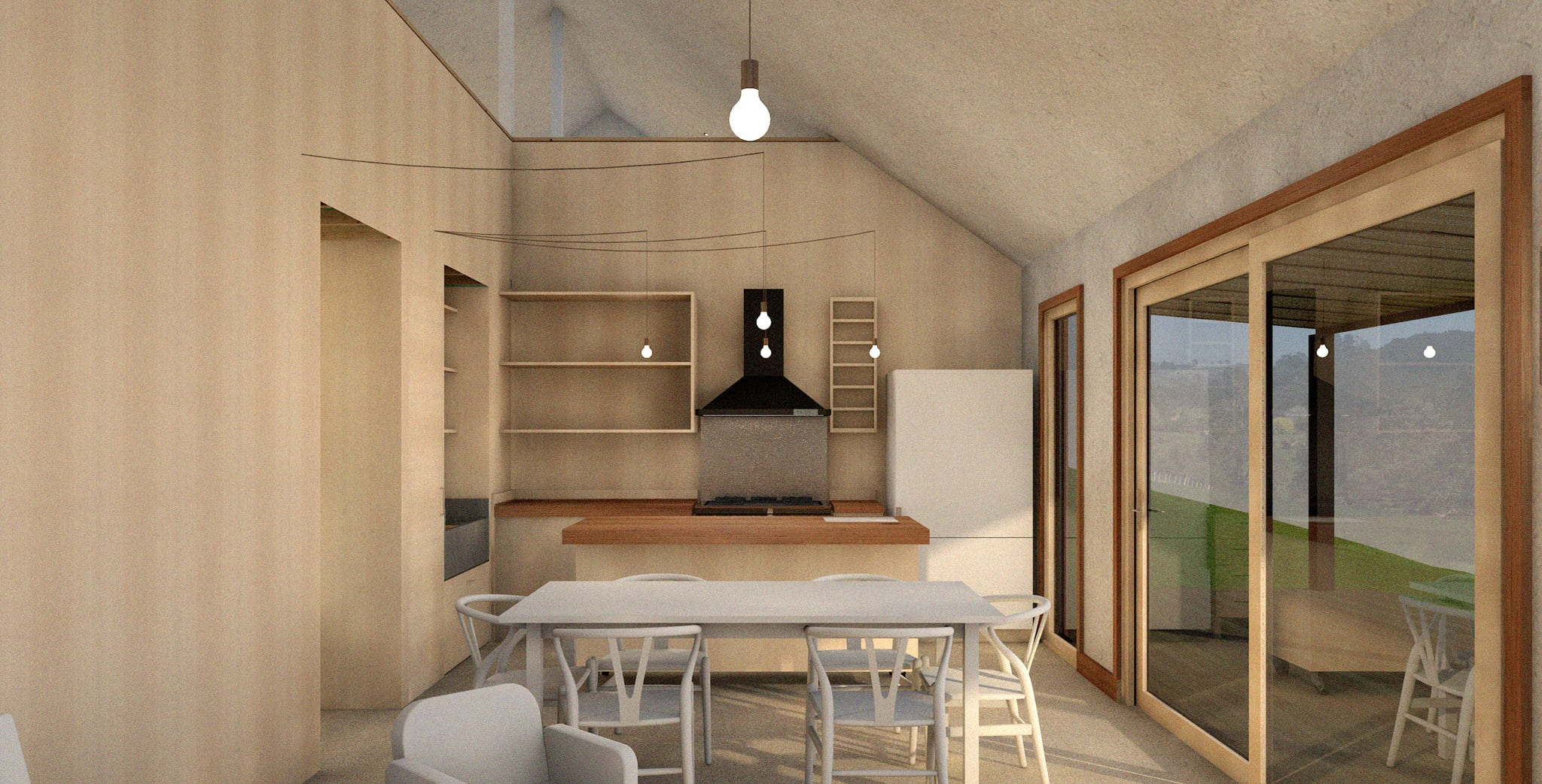 Lower Saddle Passive House - Interior 2