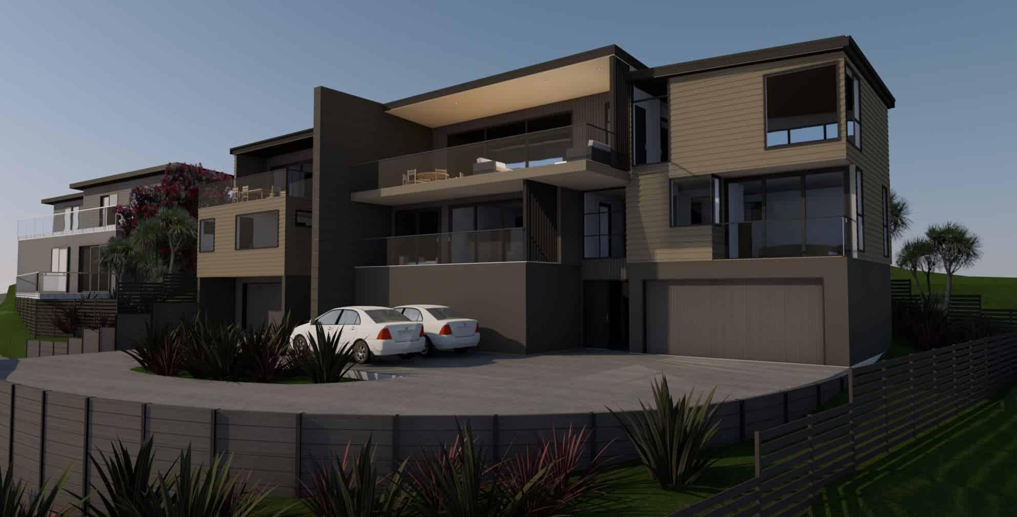 Matakiakia Duplex - Whangaparoa, Auckland - Front