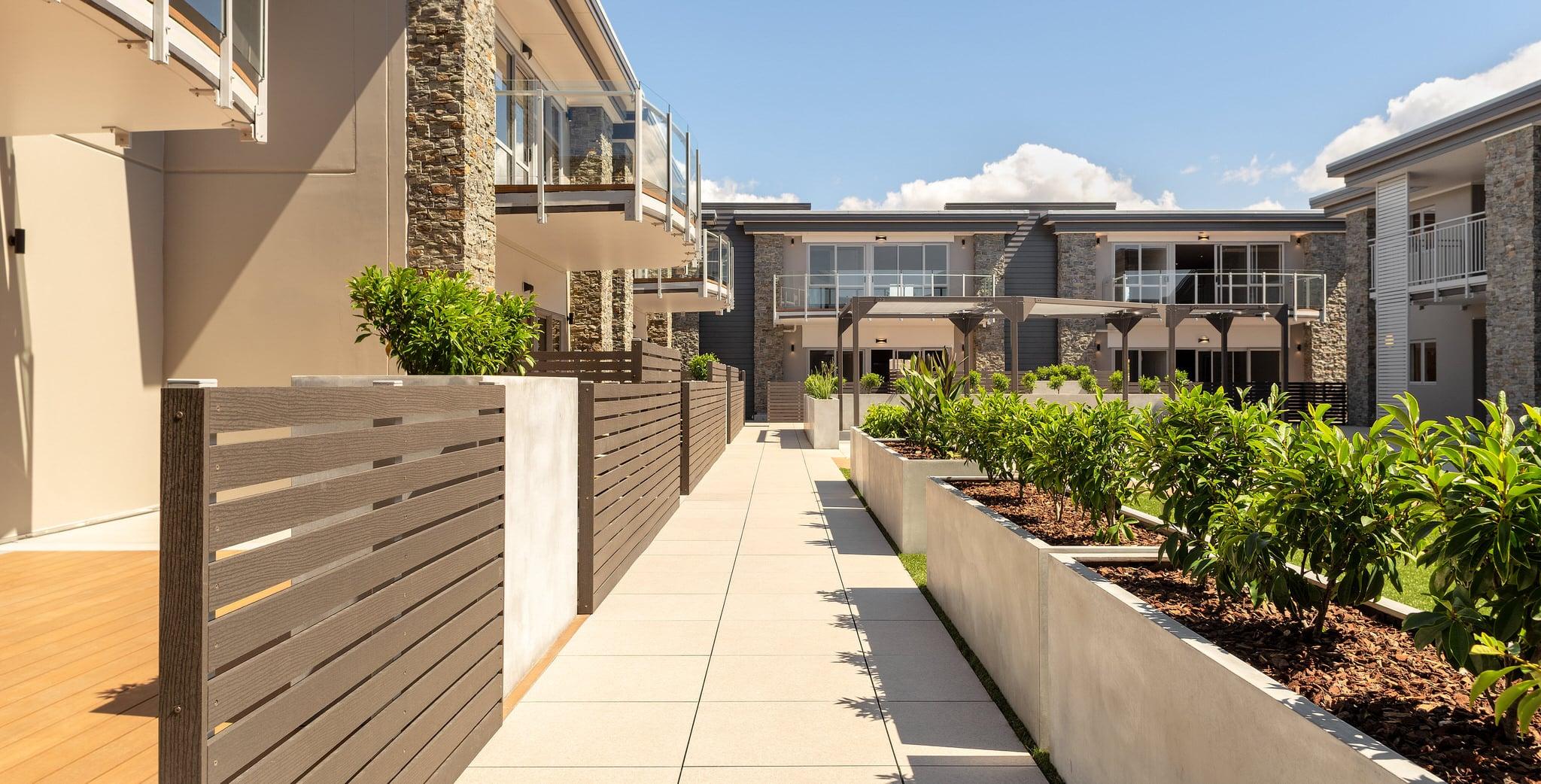 Orewa Grand Apartments - Reclad 3