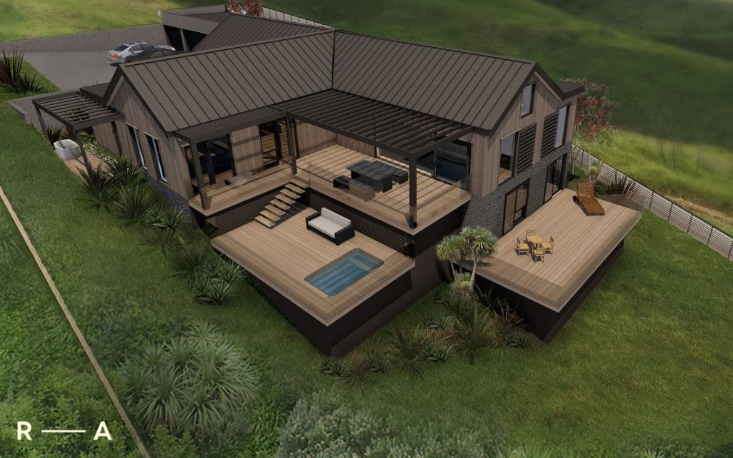 Passive House-Exterior Render 3x2