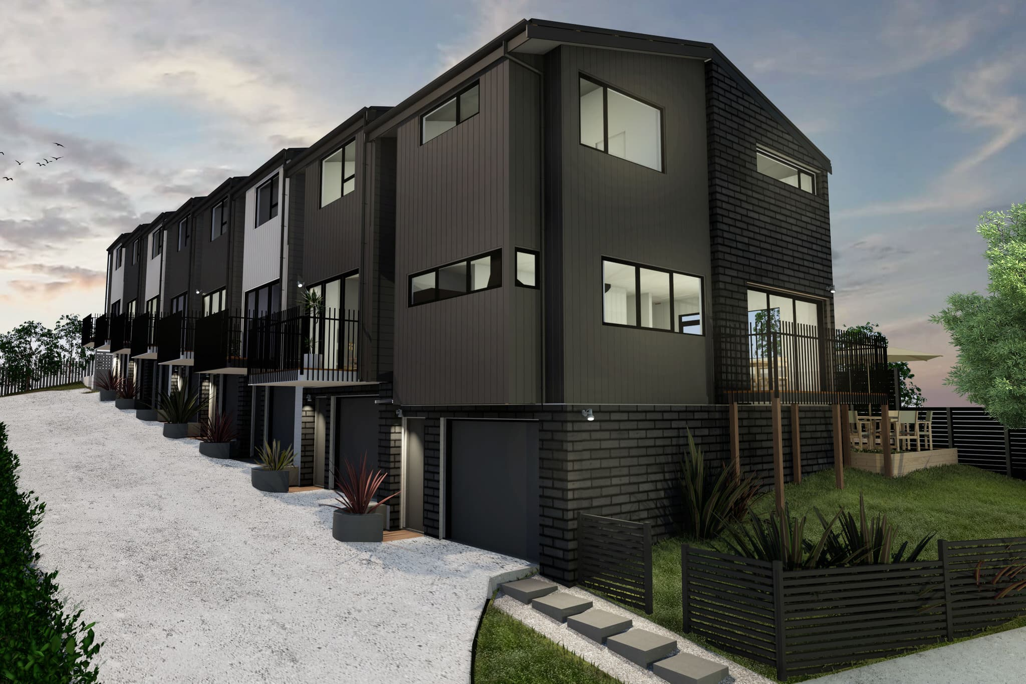 Glendowie Terraced Housing, Auckland