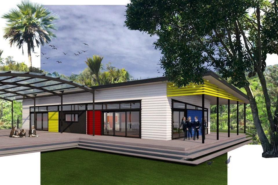 Te Ranga School - Exterior 3x2