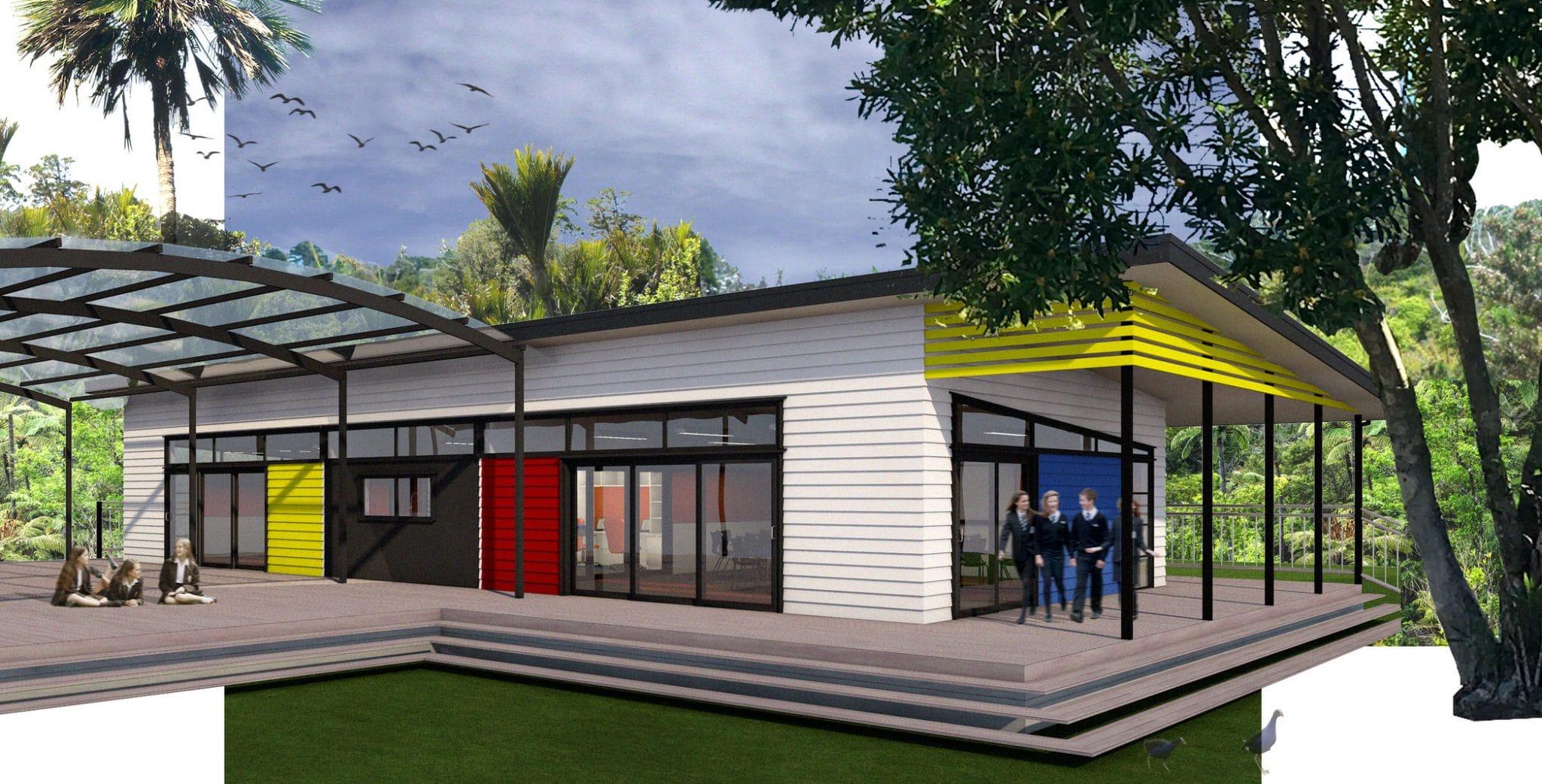 Te Ranga School - Exterior