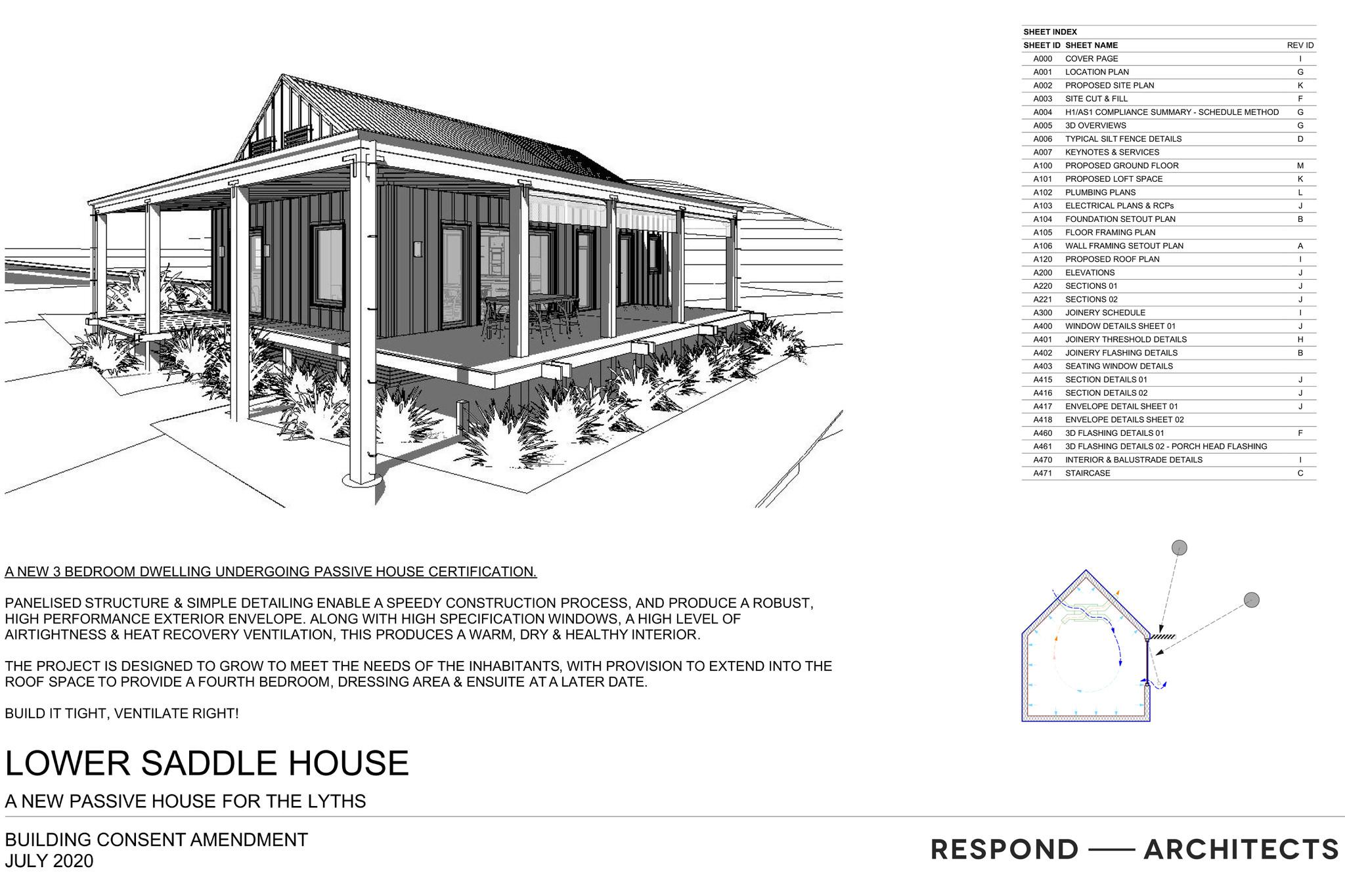 Lower Saddle House Diagram
